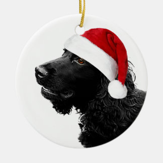 Merry Christmas Cocker Christmas Ornament