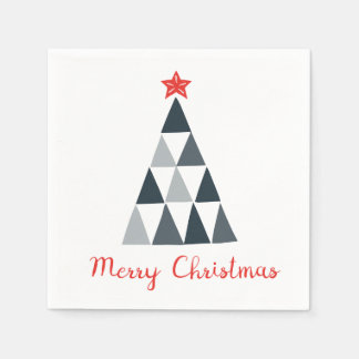 Merry Christmas Cocktail Paper Napkins