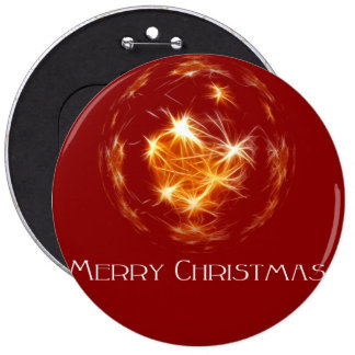 Merry Christmas Colossal, Round Button