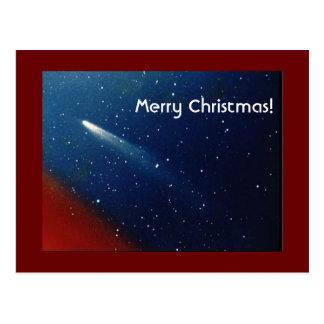 Merry Christmas! Comet Kohoutek Postcard