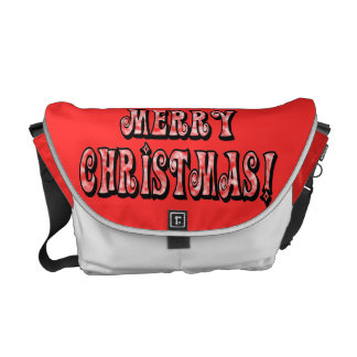 Merry Christmas! Commuter Bags