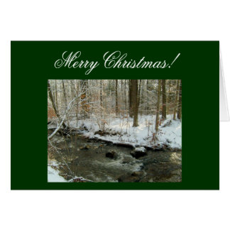 Merry Christmas!-Create Your Own Greeting Cards! Card