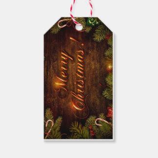 Merry Christmas Custom Gift Tags