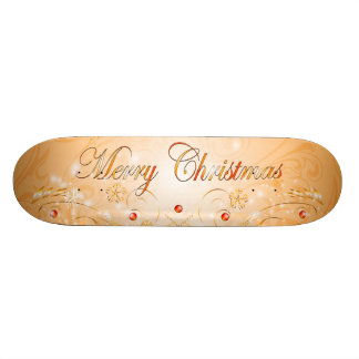 Merry Christmas Custom Skate Board