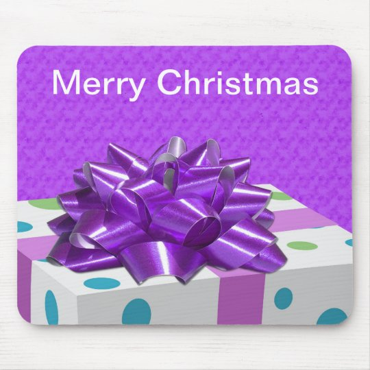 Merry Christmas Customisable Mouse Mat
