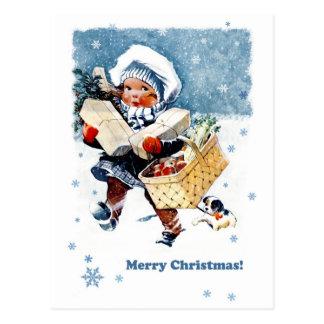Merry Christmas Customizable Christmas Postcards