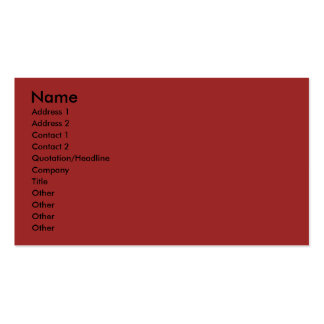 Merry Christmas Cut Out Photo Frame Red Business Card Template