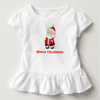 Merry Christmas Cute Santa Baby Shirt