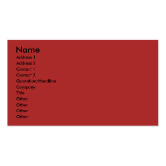 Merry Christmas CutOut PhotoFrame Red Green Stripe Business Cards