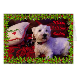 Merry Christmas Daddy Christmas Card