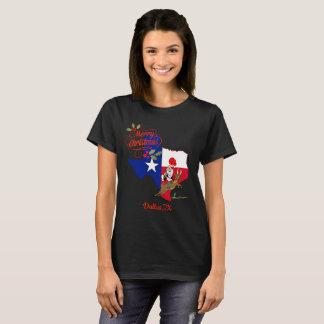 Merry Christmas Dallas Texas T-Shirt
