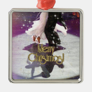 Merry Christmas Dancers Christmas Ornament