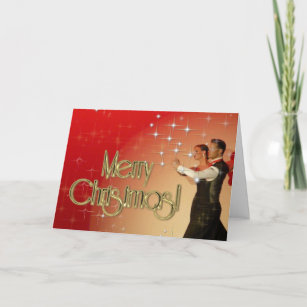 Merry Christmas Dancers PERSONALIZED