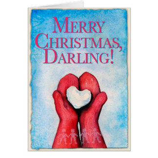 Merry Christmas, Darling! Christmas card