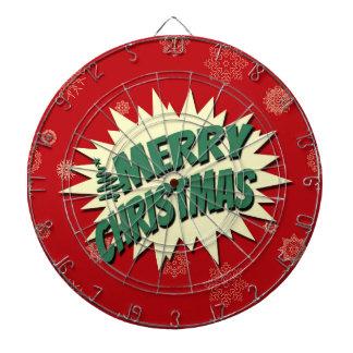 Merry Christmas Dartboard