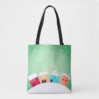 Merry christmas designers tote bag