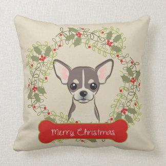 Merry Christmas Dog Breed Cushion