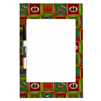 Merry Christmas Dry-Erase Boards