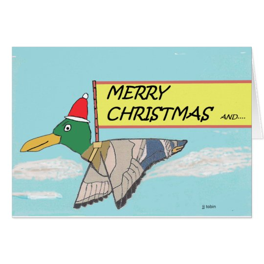 Merry Christmas Duck Card
