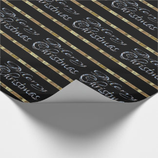 Merry Christmas Elegant Designer Wrapping Paper