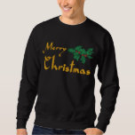 Merry Christmas Embroidered Shirt