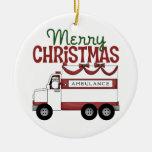 Merry Christmas EMT Ornament