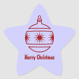 Merry Christmas Envelope Seal Stickers