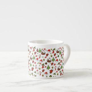 Merry Christmas Espresso Cup