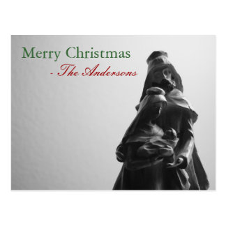 Merry Christmas - Family : Custom Post Cards