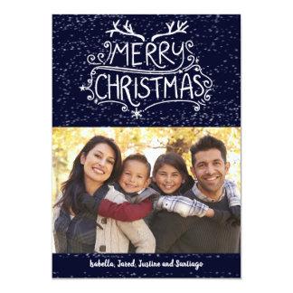 Merry Christmas Family Photo Card