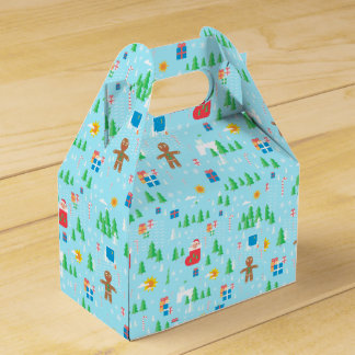 Merry Christmas favor box. Favour Box