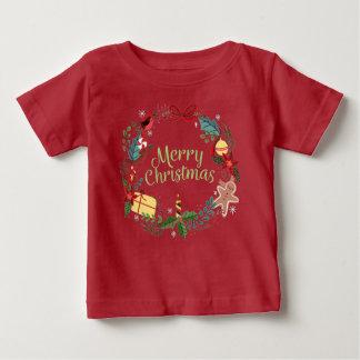 Merry Christmas Festive Holiday Xmas Kids Tee