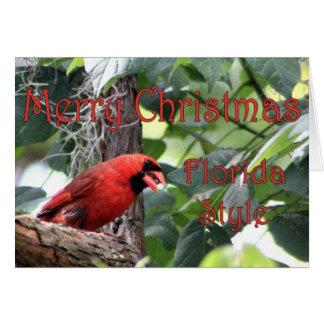 Merry Christmas, Florida Style Card