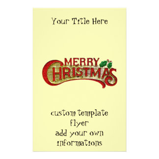 Merry Christmas Full Color Flyer