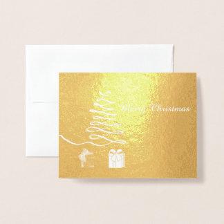 Merry Christmas Foil Card