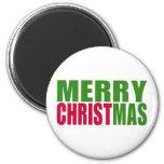Merry Christmas Fridge Magnets