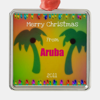 Merry Christmas from Aruba  2011 Christmas Ornament