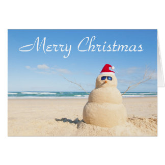 Merry Christmas from Australia Card