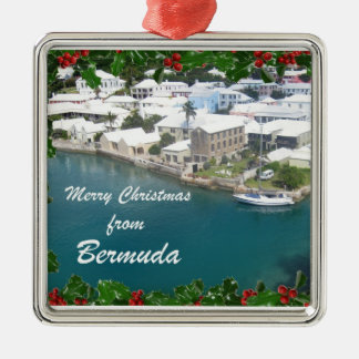 Merry Christmas from Bermuda Christmas Ornament