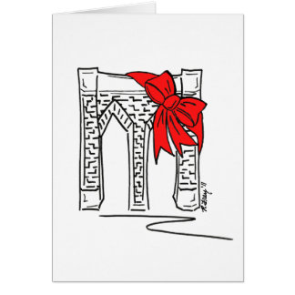Merry Christmas from Brooklyn NYC Holiday Cards