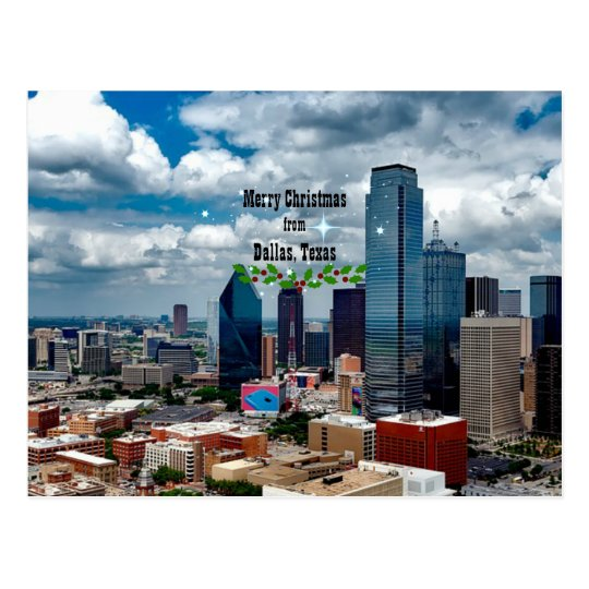 Merry Christmas from Dallas, Texas Postcard