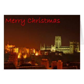 Merry Christmas from Durham Greeting Card