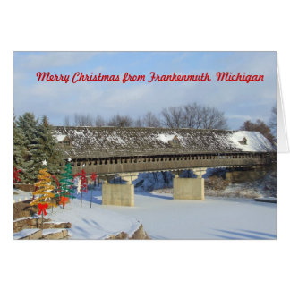 Merry Christmas from Frankenmuth Michigan Card