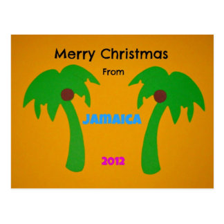 Merry Christmas from Jamaica 2012 Post Cards