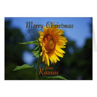 Merry Christmas from Kansas Card