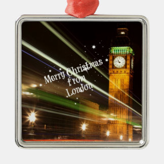 Merry Christmas from London - Big Ben Christmas Ornament