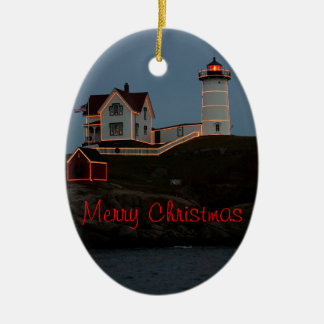 Merry Christmas from Maine Christmas Ornament