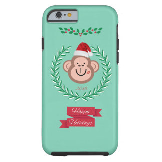 Merry Christmas from Monkey! Tough iPhone 6 Case