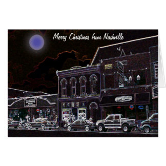 Merry Christmas from Nashville Greeting Card