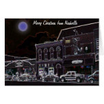Merry Christmas from Nashville Greeting Cards